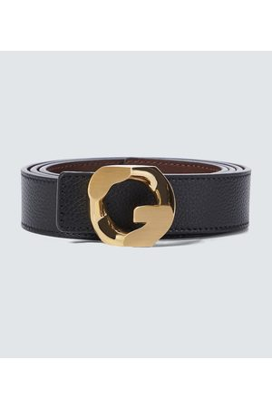 Givenchy Reversible G Chain leather belt