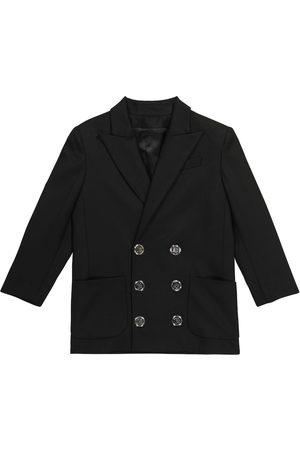 Balmain Girls Blazers - Stretch-wool blazer