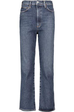 AGOLDE Pinch high-rise slim jeans
