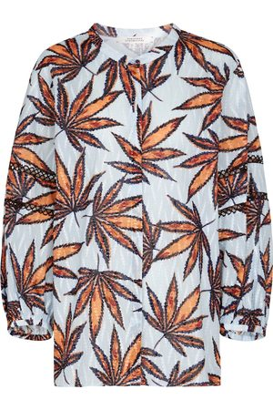 Dorothee Schumacher Fantasy Leaves printed cotton blouse