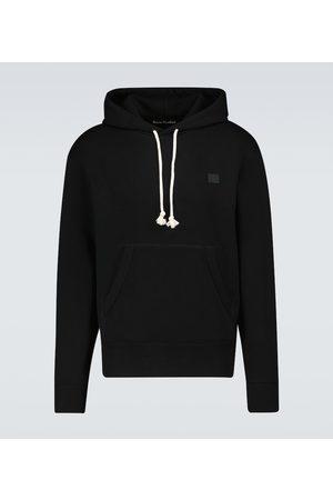 Acne Studios Men Hoodies - Fennis Face hooded sweatshirt