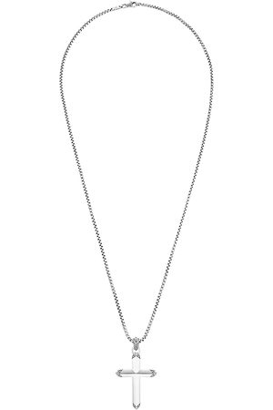 John Hardy Classic Chain' Cross Pendant Sterling Silver Necklace