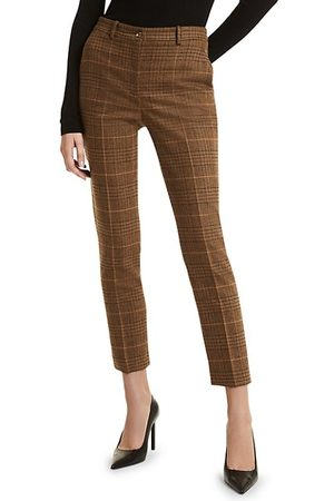 Michael Kors Samantha Check Ankle Trousers