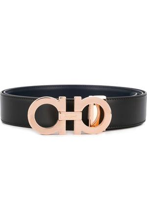 Salvatore Ferragamo Men Belts - Logo buckle belt