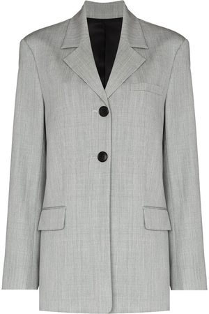 Commission Women Blazers - Single-breasted hybrid blazer