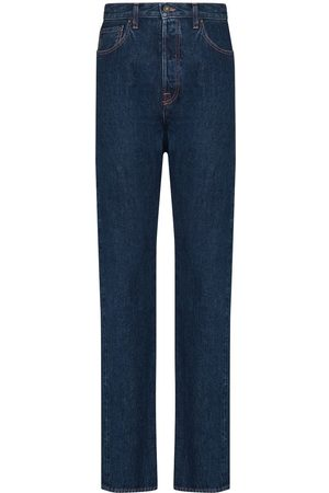 Made In Tomboy Women High Waisted - Victoria high-waisted straight-leg jeans