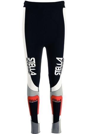 Stella McCartney Women Leggings - Sporty logo-print leggings