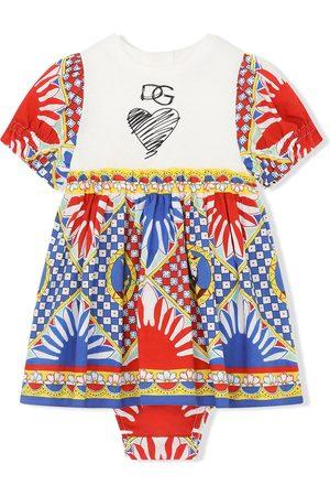 Dolce & Gabbana Baby Printed Dresses - Graphic-print dress