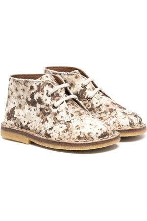 PèPè Floral print ankle boots
