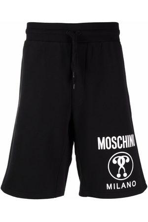 Moschino Double Question Mark bermuda shorts