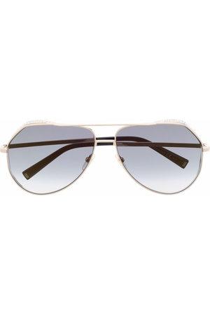 Givenchy Crystal-embellished aviator sunglasses