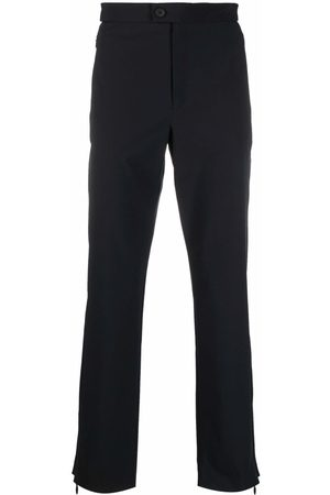 A-cold-wall* Men Stretch Pants - Stretch-fit straight-leg trousers