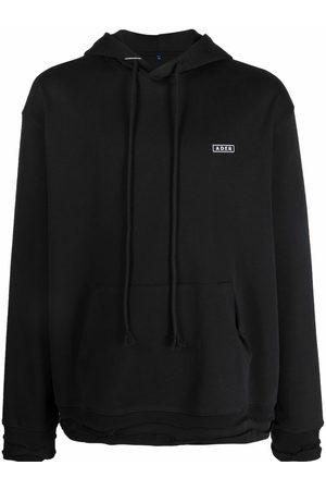 Ader Error Logo-patch drawstring hoodie