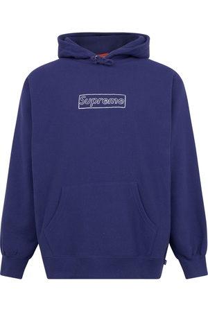 Supreme X Kaws chalk logo hoodie