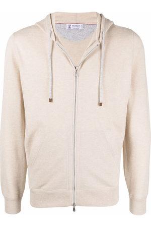 Brunello Cucinelli Zip-up cashmere hoodie