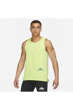 Nike Men Sports T-shirts - Dri-FIT Rise 365 Men's Trail Running Tank