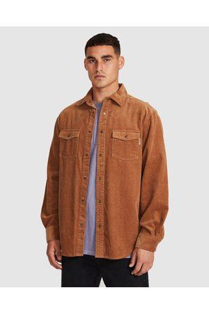 Insight Men Shirts - Cassian Overshirt Biscuit