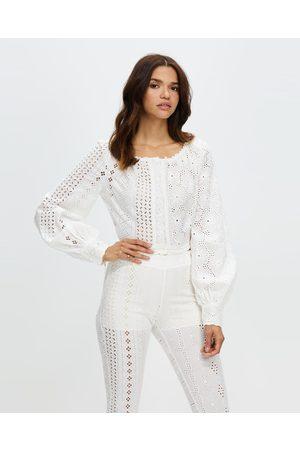 LENNI the label Women Blouses - Badlands Blouse - Tops (Lace Cotton) Badlands Blouse