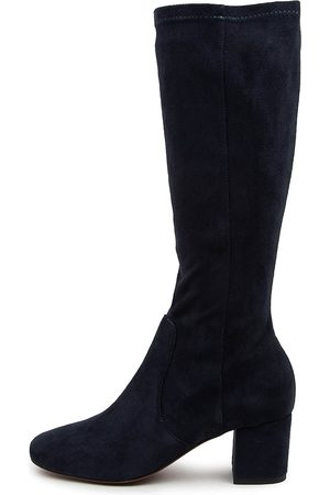 MOLLINI Women Knee High Boots - Celam Mo Navy Boots Womens Shoes Casual Long Boots