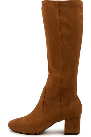 Mollini Women Knee High Boots - Celam Mo Whisky Boots Womens Shoes Casual Long Boots