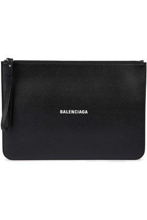 Balenciaga Logo pouch