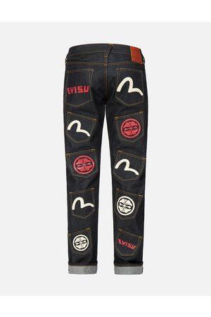 Evisu Men Jeans - Multi Pocket Regular Fit Jeans #2008