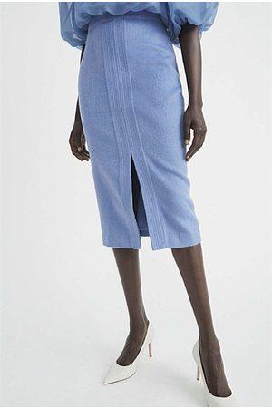 WITCHERY Split Front Pencil Skirt