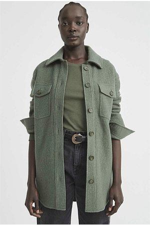 WITCHERY Classic Shacket