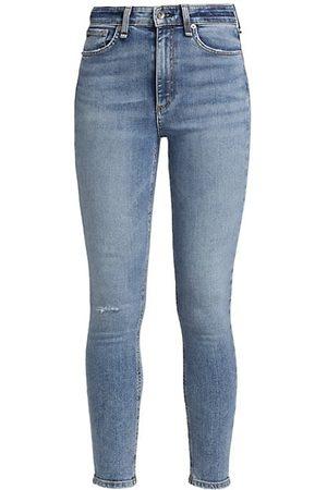 RAG&BONE Nina High-Rise Ankle Skinny Jeans