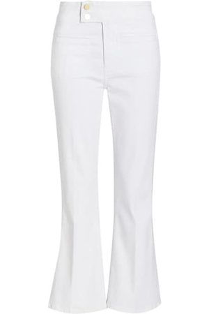 Frame Le Hardy High-Rise Cropped Flare Jeans