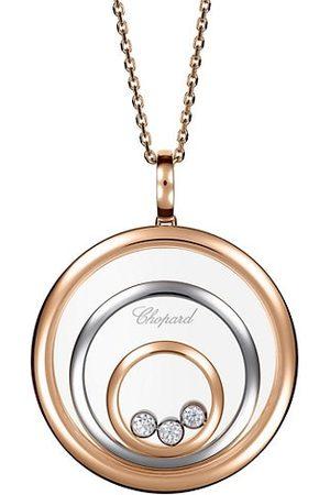 Chopard Necklaces - Happy Spirit Two-Tone 18K Gold & Diamond Pendant Necklace