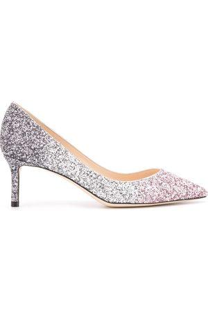 Jimmy Choo Women Heels - Romy 60mm glitter pumps