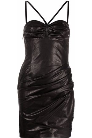 Dsquared2 Gathered-detail dress