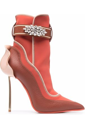 LE SILLA Women Boots - Crystal-embellished snorkelling boots