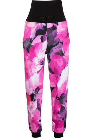 Marchesa Notte Women Joggers - Tie-dye-print track pants
