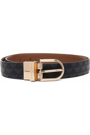 Emporio Armani Women Belts - Logo print belt
