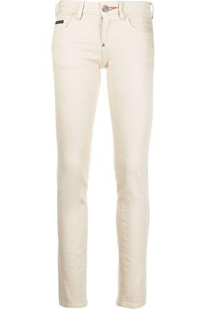 Philipp Plein Iconic slim-fit denim leggings