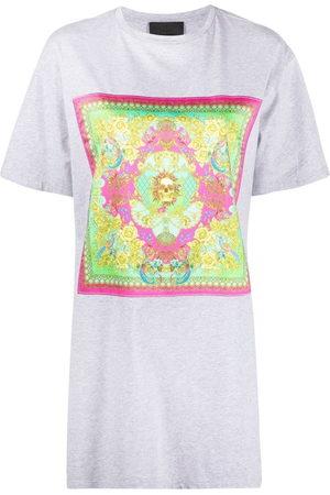Philipp Plein Women Printed Dresses - Baroque print T-shirt dress