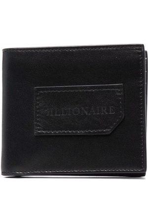 BILLIONAIRE Institutional embossed-logo wallet