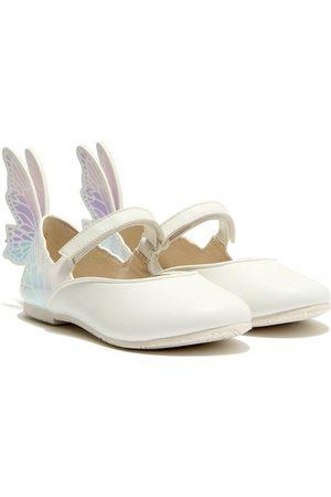SOPHIA WEBSTER Butterfly-embellished ballerina shoes