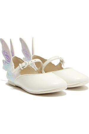 SOPHIA WEBSTER Girls Ballerinas - Wing-embellished ballerina shoes