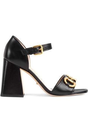 Gucci Horsebit block-heel sandals