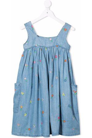 Stella McCartney Floral-embroidered dress