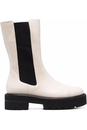 Stuart Weitzman Women Heeled Boots - Presley Ultralift 50mm platform boots