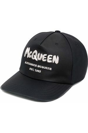 Alexander McQueen Men Caps - Logo-print cap