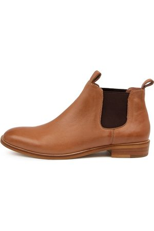 Mollini Wander Mo Tan Boots Womens Shoes Casual Ankle Boots