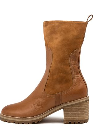 Mollini Brink Mo Tan Boots Womens Shoes Casual Ankle Boots