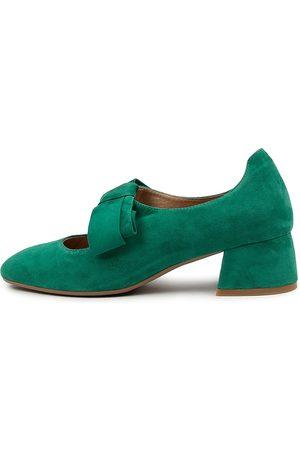 Django & Juliette Women Heels - Chiara Dj Emerald Shoes Womens Shoes Casual Heeled Shoes