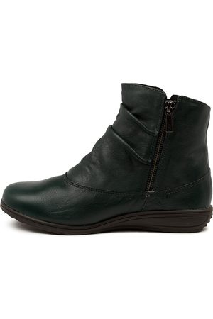 SUPERSOFT Kiesha Su Dk Teal Boots Womens Shoes Casual Ankle Boots