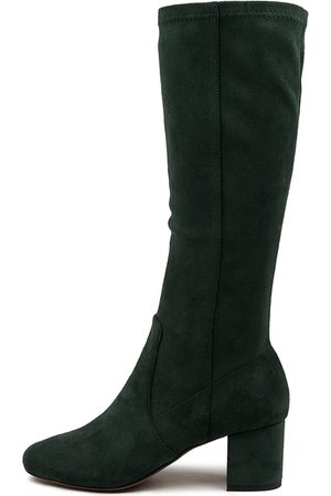 Mollini Women Knee High Boots - Celam Mo Forest Boots Womens Shoes Casual Long Boots